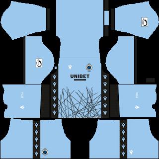 Club Brugge KV Goalkeeper Away Kit