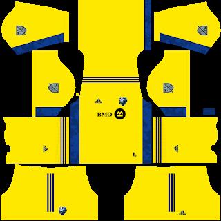 Montreal Impact Goalkeeper Home Kit