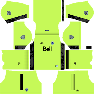 Vancouver Whitecaps FC Goalkeeper Home Kit