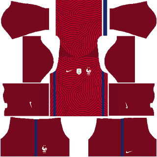 France Euro Cup 2021 Goalkeeper Home Kit