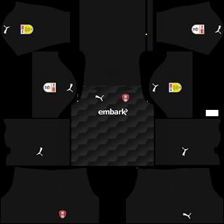 Rotherham United FC Goalkeeper Home Kit