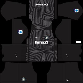 Inter Milan Goalkeeper Home Kit