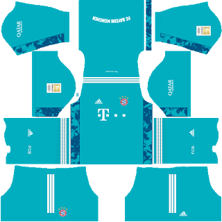 Bayern MunichGoalkeeper Home Kit