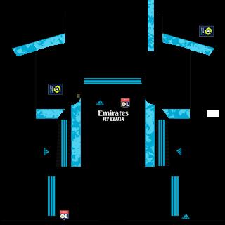 Olympique Lyonnais Goalkeeper Home Kit