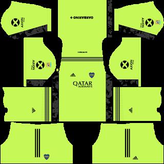 Boca Juniors Home Goalkeeper Kit