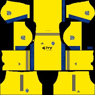 Sporting Kansas City Goalkeeper Home Kit