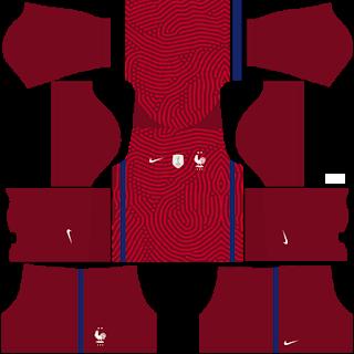 France Euro Cup 2021 Goalkeeper Home Kit