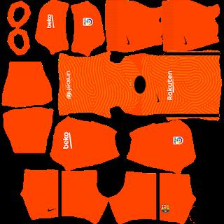 Barcelona GoalkeeperThird Kit