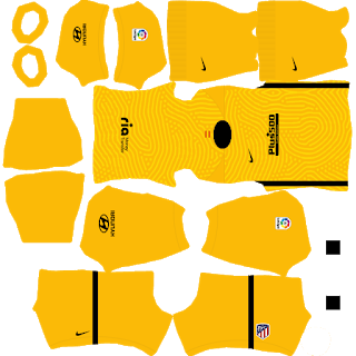 Atletico Madrid Goalkeeper Third Kit