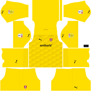 Rotherham United FC Goalkeeper Third Kit