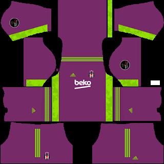 Besiktas JK Goalkeeper Third Kit