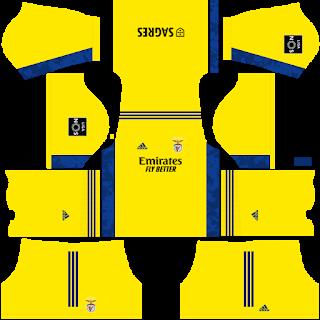 SL Benfica Goalkeeper Third Kit