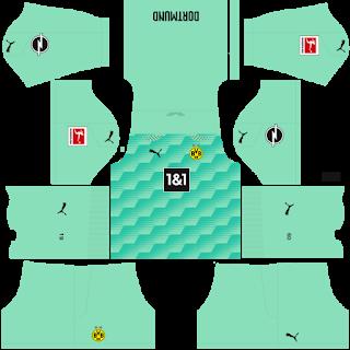 Borussia Dortmund Goalkeeper Third Kit