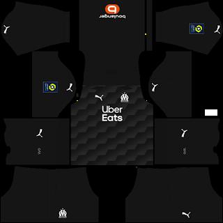 Olympique Marseille Goalkeeper Third Kit