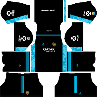 Boca Juniors Third Goalkeeper Kit