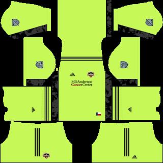 Houston Dynamo FC Goalkeeper Third Kit