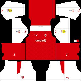 Rotherham United FC DLS Kits 2021