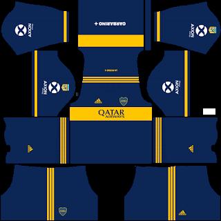 Boca Juniors Home Kit