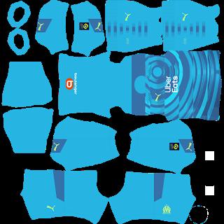 Olympique Marseille Third Kit