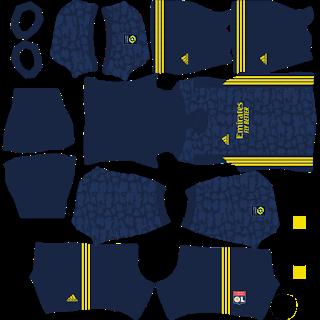 Olympique Lyonnais Third Kit