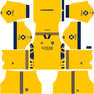 Boca Juniors Third Kit