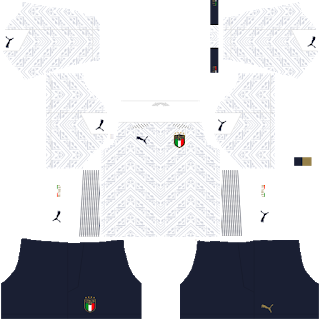 Italy Euro Cup 2021 Away Kit