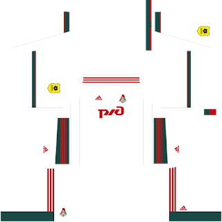 FC Lokomotiv Moscow Away Kit