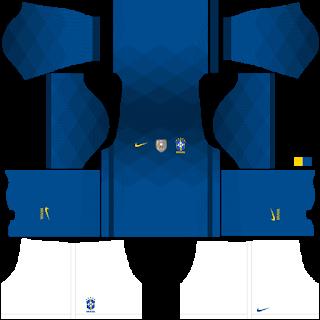 Brazil Copa América 2021 Away Kit