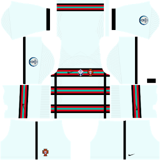 Portugal Euro Cup 2021 Away Kit