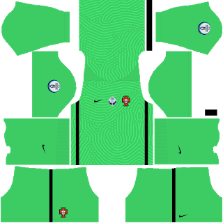 Portugal Euro Cup 2021 Goalkeeper Away Kit