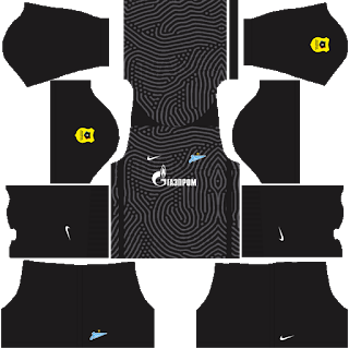 Zenit St Petersburg Goalkeeper Away Kit
