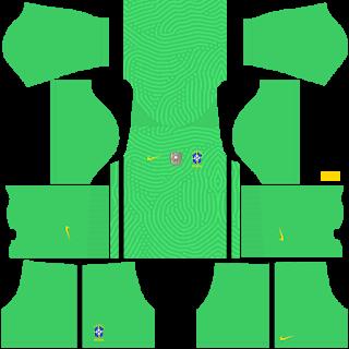 Brazil Copa América 2021 Goalkeeper Away Kit