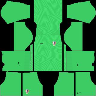 Croatia Euro Cup 2021 Goalkeeper Home Kit