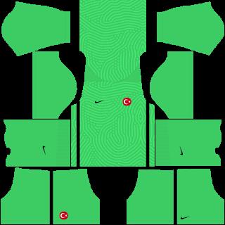 Turkey Euro Cup 2021 Goalkeeper Home Kit