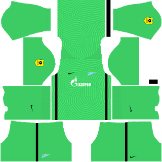Zenit St Petersburg Goalkeeper Home Kit