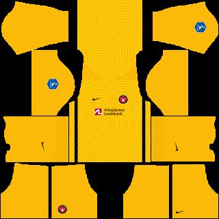 FC Midtjylland Goalkeeper Home Kit