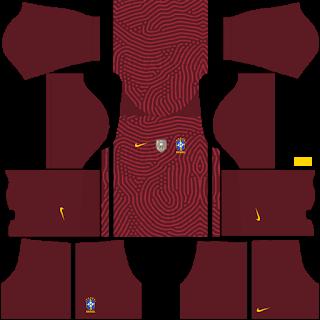 Brazil Copa América 2021 Goalkeeper Home Kit