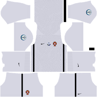 Portugal Euro Cup 2021 Goalkeeper Home Kit