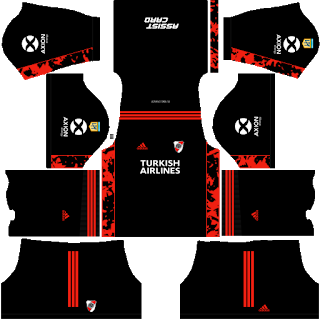 River Plate Goalkeeper Home Kit