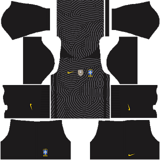Brazil Copa América 2021 Goalkeeper Third Kit