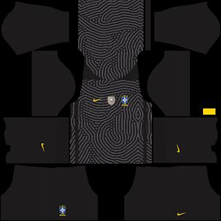 Brazil Copa América 2021 Goalkeeper Third Kit