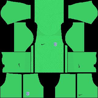 England Euro Cup 2021 Goalkeeper Third Kit