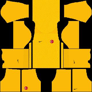 Turkey Euro Cup 2021 Goalkeeper Third Kit
