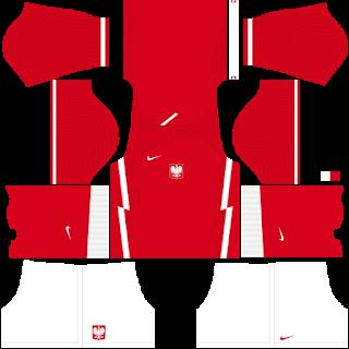 Poland Euro Cup 2021 Away Kit
