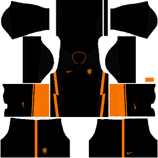 Netherlands Euro Cup 2021 Away Kit