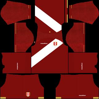Peru Copa América 2021 Away Kit