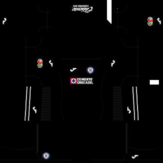 Cruz Azul GoalkeeperAway Kit