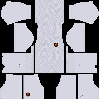 Netherlands Euro Cup 2021 Goalkeeper Away Kit