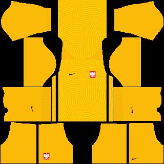 Poland Euro Cup 2021 Goalkeeper Home Kit