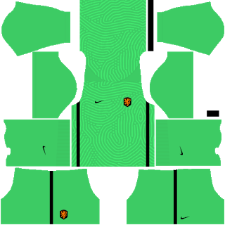 Netherlands Euro Cup 2021 Goalkeeper Home Kit